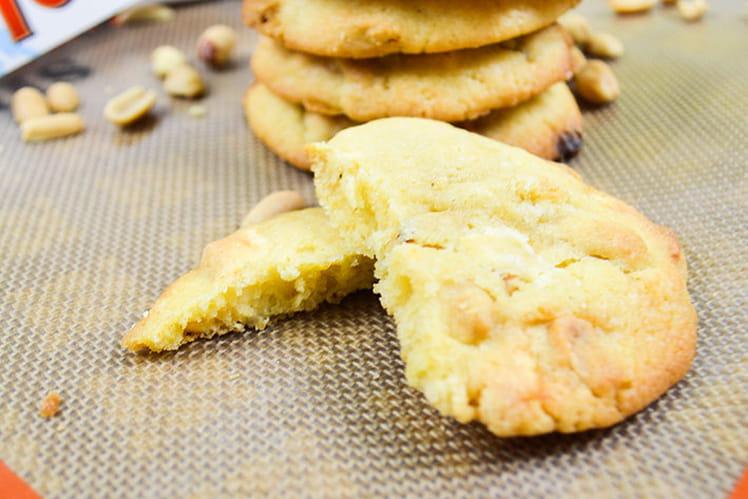 Cookies au Toblerone blanc et aux cacahuètes