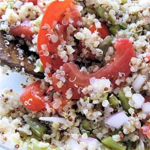 salade au quinoa gourmand.