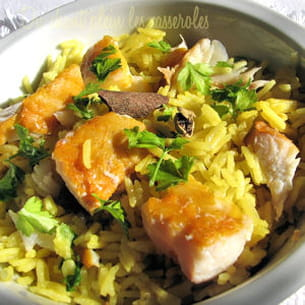 kedgeree (riz au curry et au haddock)