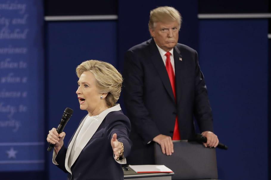 Hillary Clinton vs. Donald Trump: débat présidentiel entre tension et misogynie
