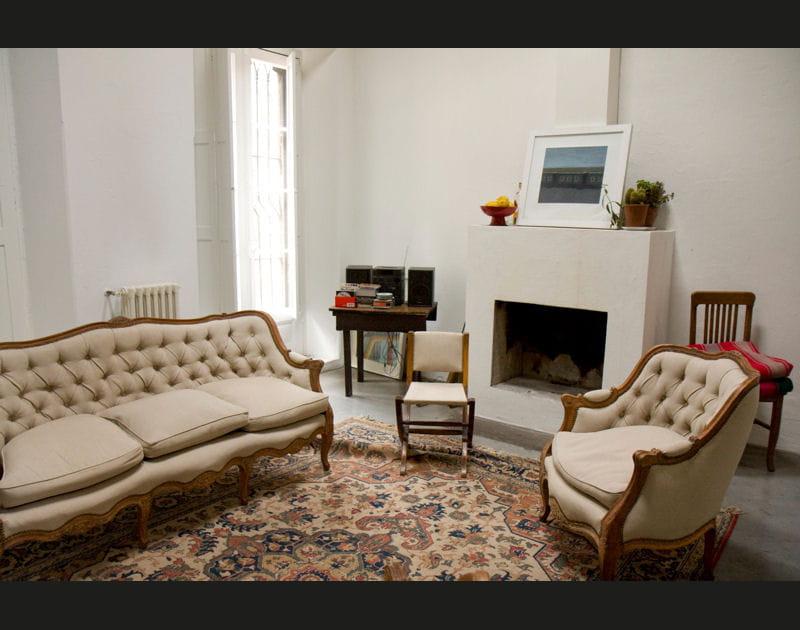 Un salon romantique