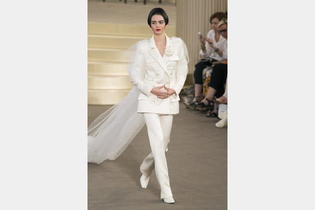 Robe de mariée Chanel, surprenante