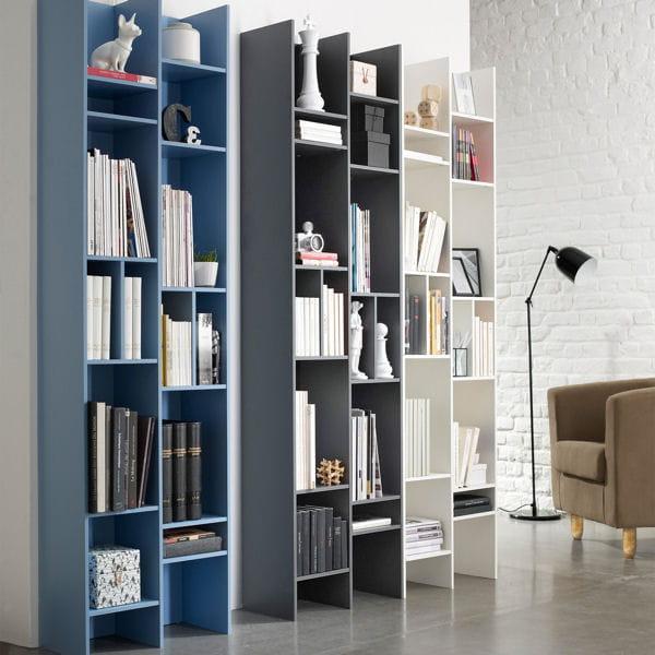 biblioth que tout en hauteur. Black Bedroom Furniture Sets. Home Design Ideas