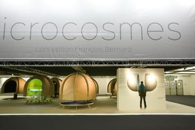 exposition 'microcosmes', salon maison et objet 2010