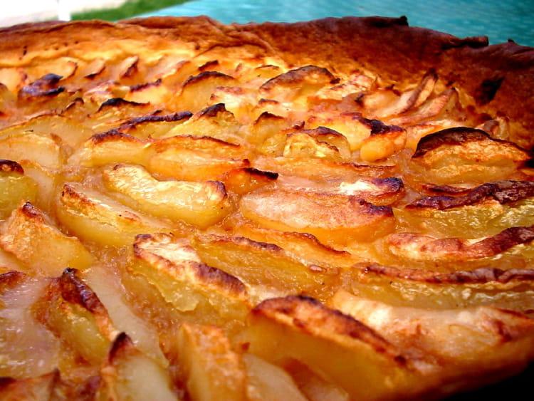 Recette de tarte aux pommes compote et confiture de - Tarte aux pommes compote maison ...