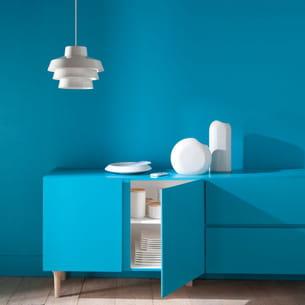 peinture mate riviera de colours chez castorama. Black Bedroom Furniture Sets. Home Design Ideas
