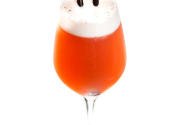 Cocktail Pineau Fizz