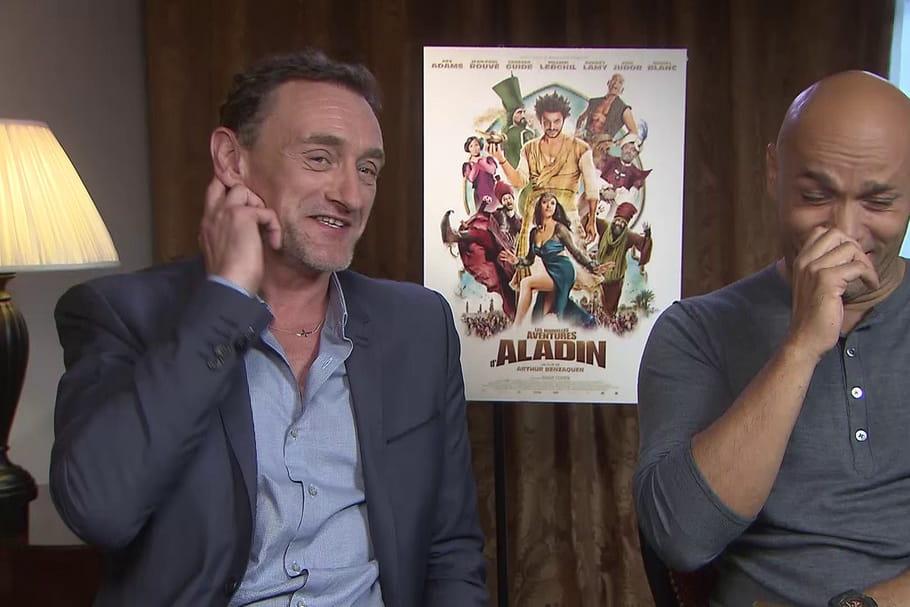 Jean-Paul Rouve et Eric Judor géniaux dans Les Nouvelles aventures d'Aladin
