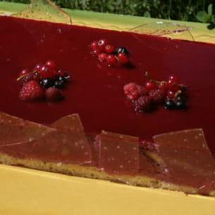 bavarois aux fruits rouges