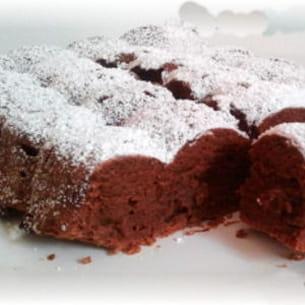 fondant au chocolat et piment d'espelette