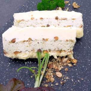 terrine de fromages aux fruits secs