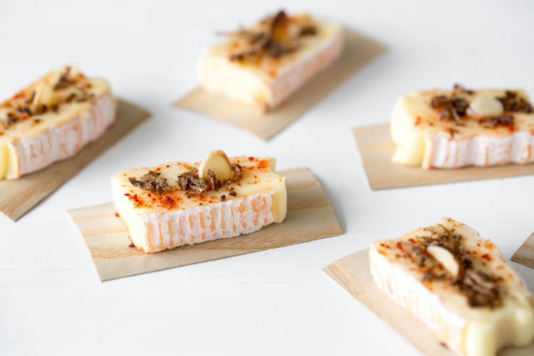 Bouchée fromagère au piment d'Espelette et aux cèpes