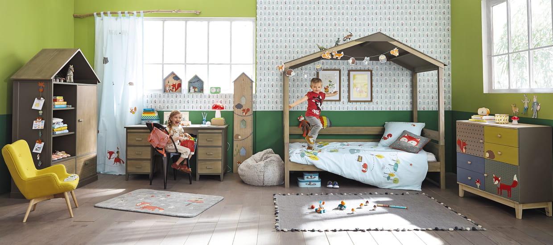 lit cabane en pin maisons du monde. Black Bedroom Furniture Sets. Home Design Ideas