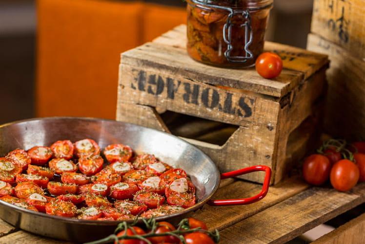 Tomates séchées à la fleur de thym
