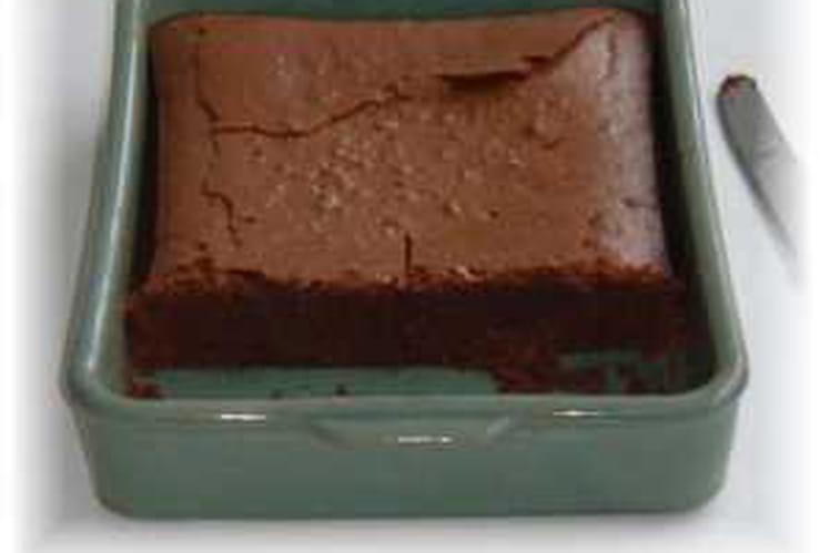 Gâteau au chocolat et amandes en poudre