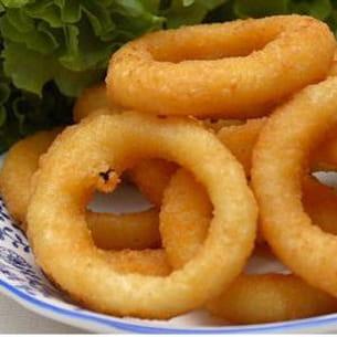 oignons en beignet (onions rings)