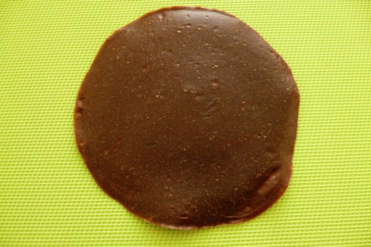 Pancake cru végan chicorée noisette amande au soja