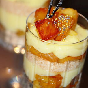 trifle ananas vanille
