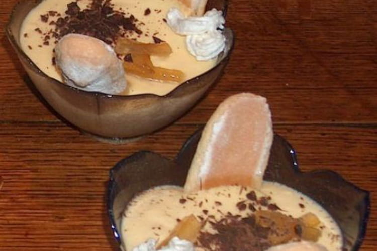 Bavarois citron chocolat