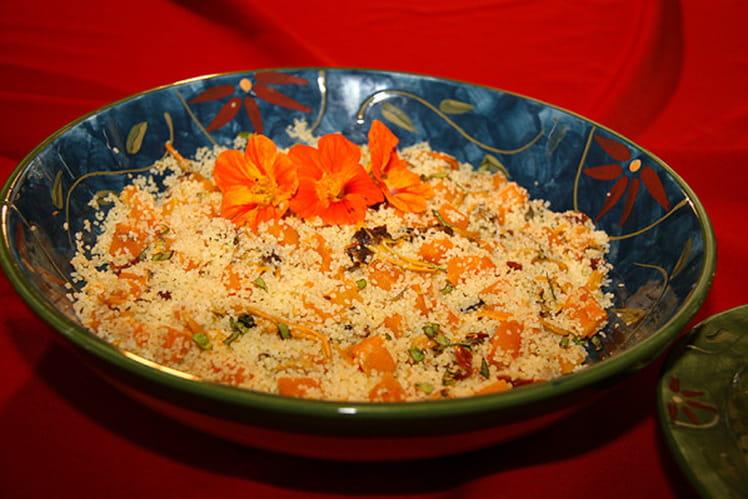 Couscous à la courge musquée (Butternut)