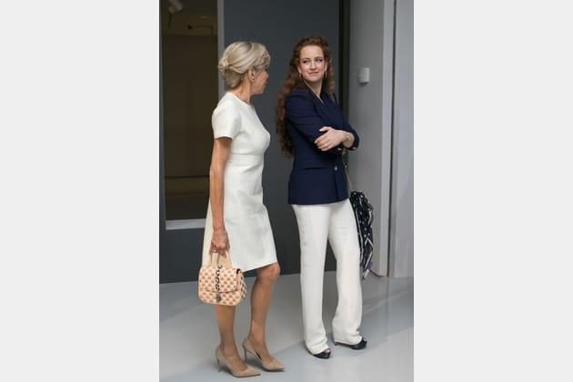 Brigitte Macron le 14juin 2017