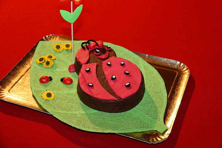 Gâteau Lady Bug