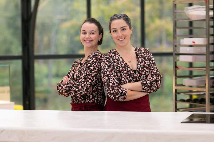 Louise et Pascaline: le duo féminin et bordelais du Meilleur Pâtissier Les Professionnels
