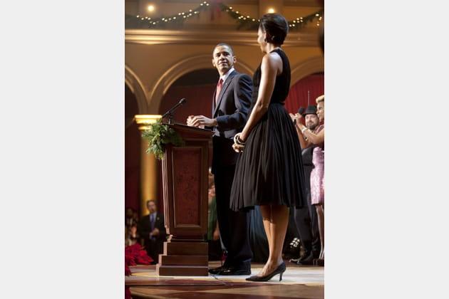 Michelle Obama le 13décembre 2009
