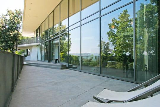Panorama en reflet
