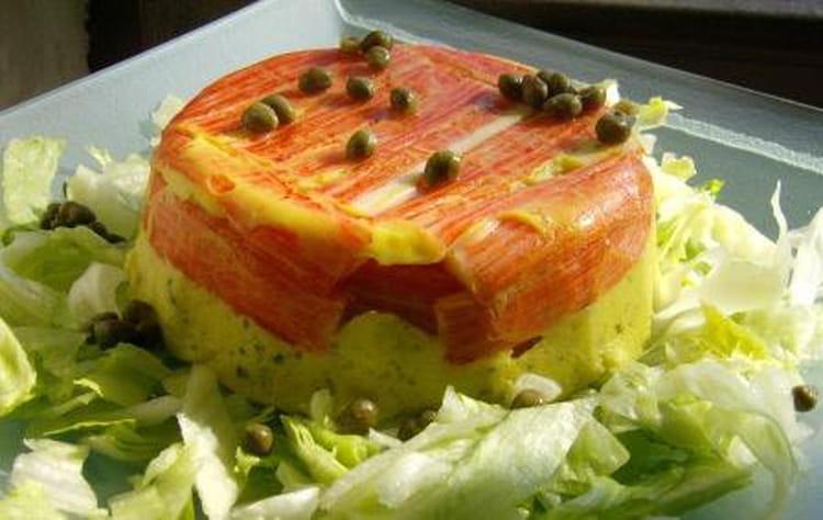 Recette de terrine de surimi aux poireaux la recette facile for Entree froide legere