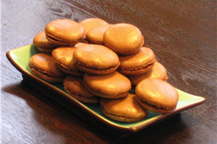 Macarons au chocolat ultra simples