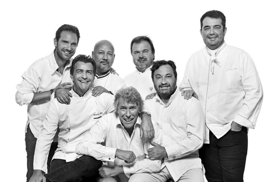 Six chefs multi-étoilés, 1dîner, 1association