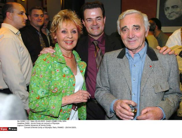 Avec Annie Cordy en 2005