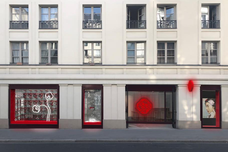 Un pop-up store Shiseido inédit à Paris