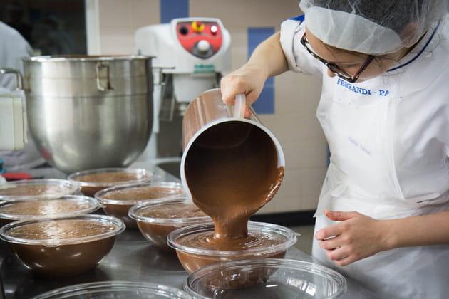 Reportage chocolatier Patrice Chapon : mousses