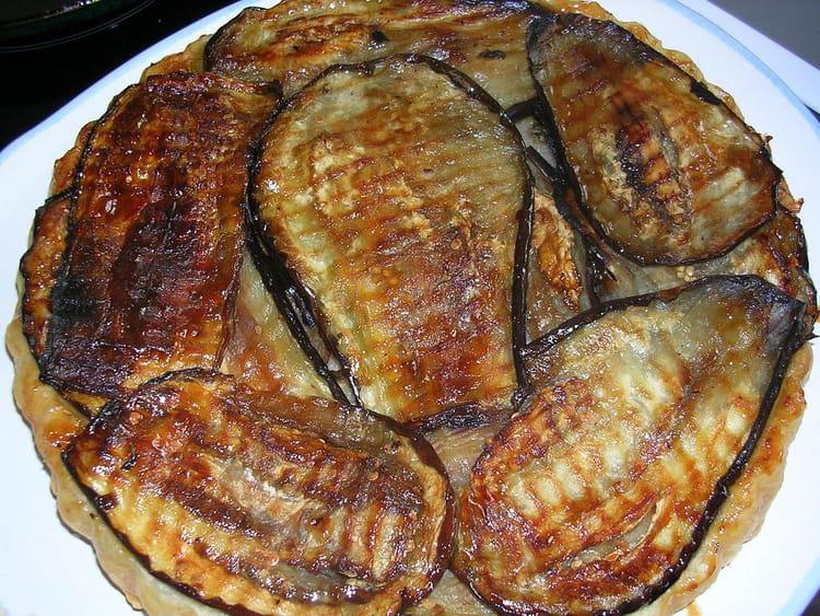 Recette de tarte tatin aux aubergines la recette facile - Aubergine a la poele ...