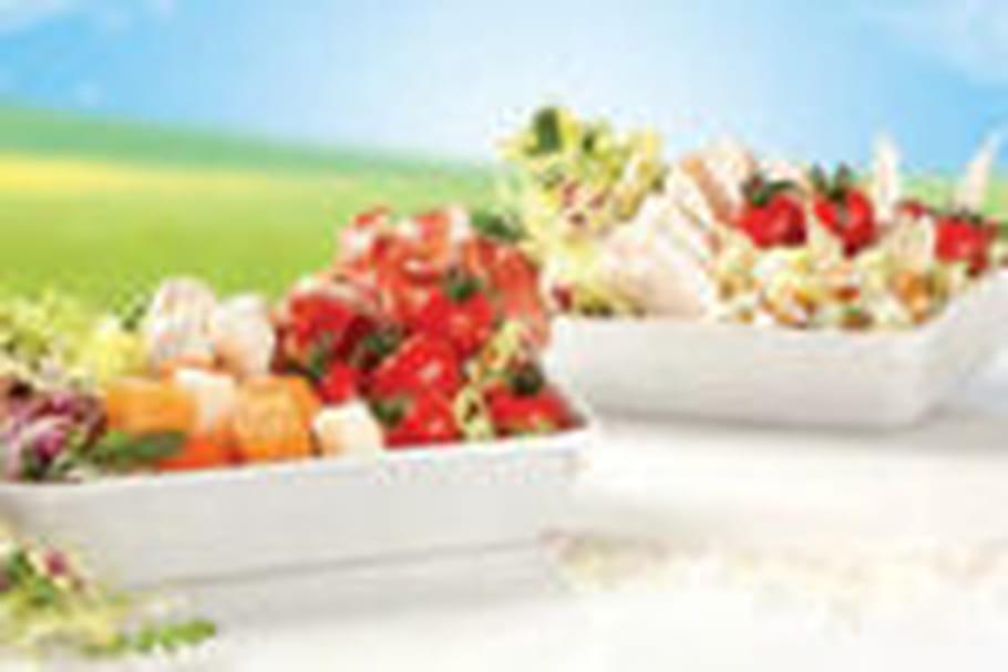 Vent de salades estivales chez Mezzo di Pasta