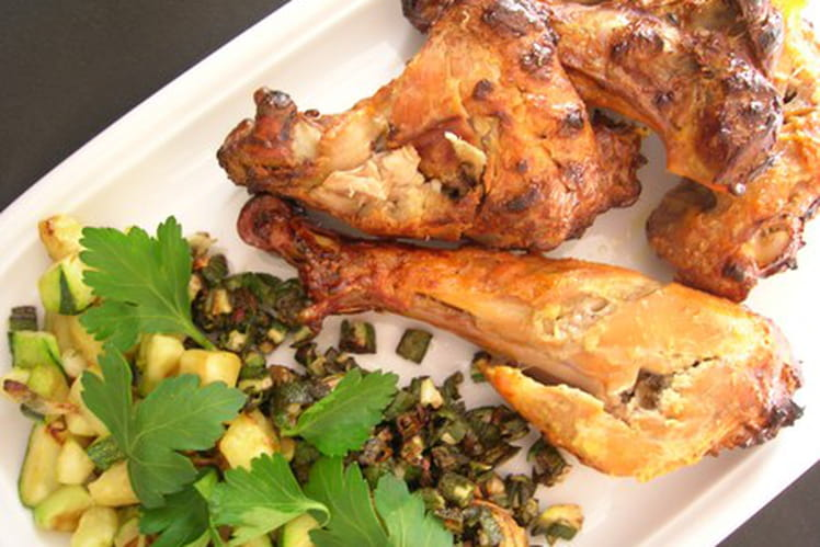 Poulet tandoori traditionnel
