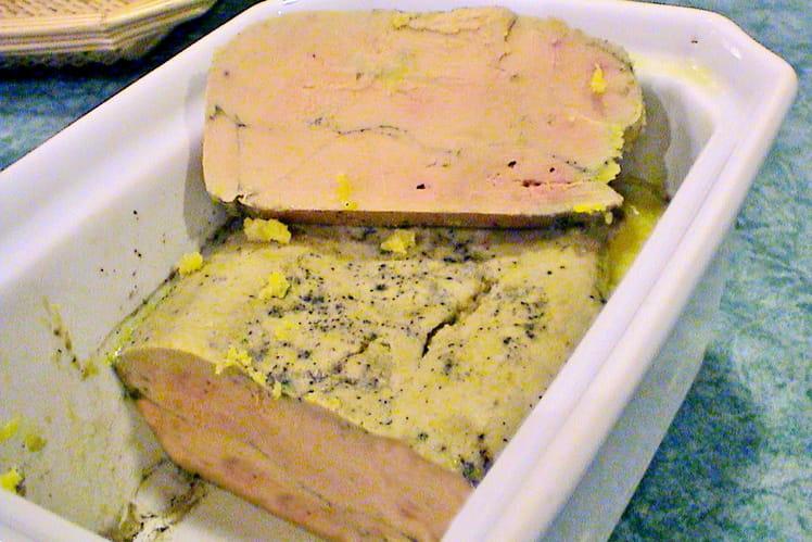 Terrine de foie gras de Joël Robuchon