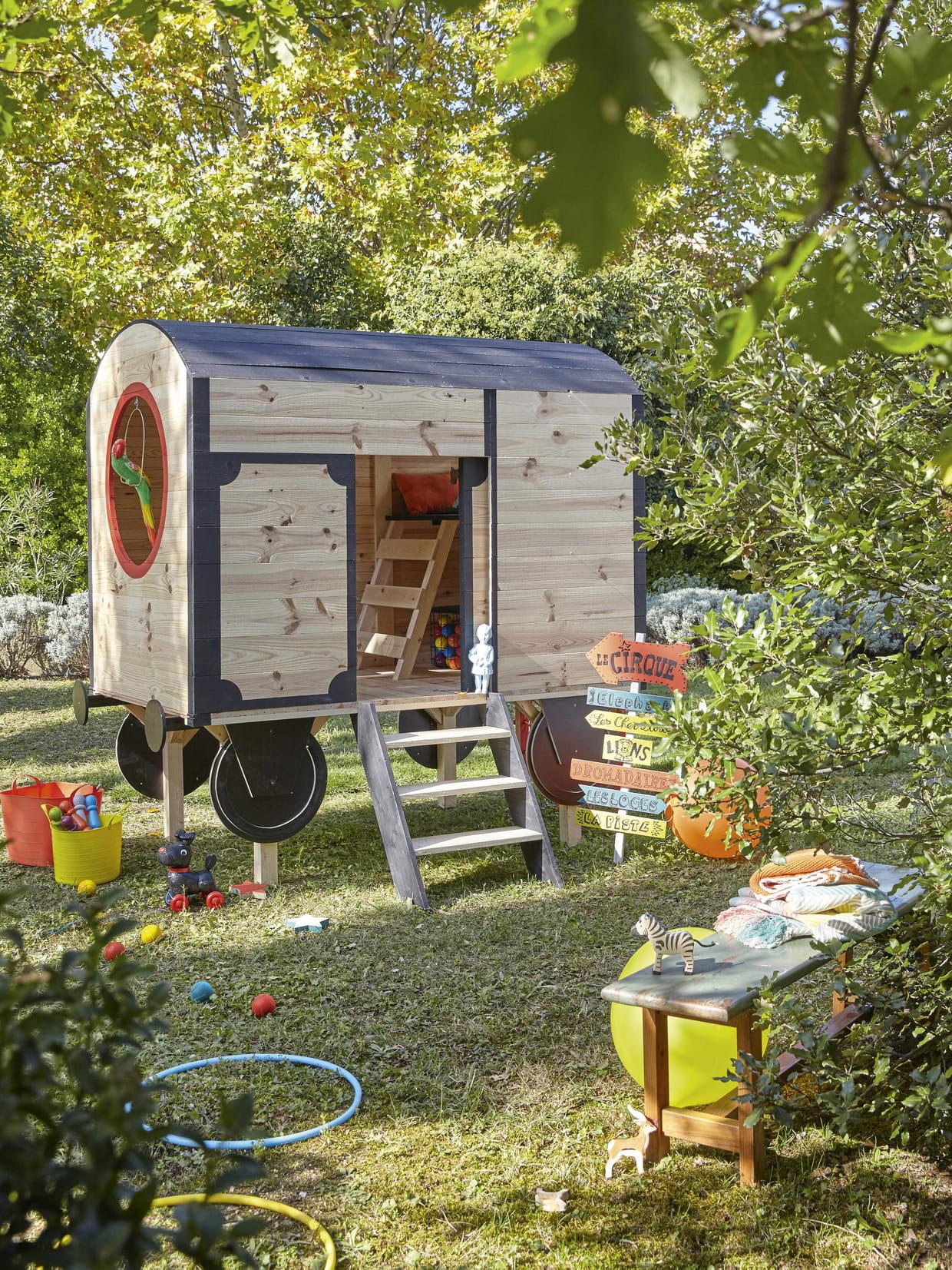 Arbre A Chat Leroy Merlin cabane en bois à peindre de leroy merlin