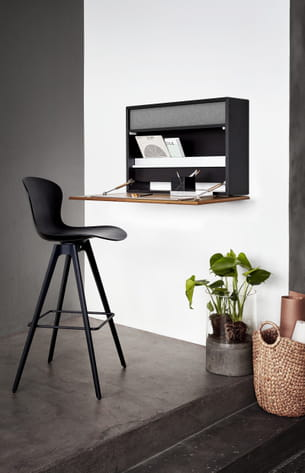 bureau mural cupertino de boconcept. Black Bedroom Furniture Sets. Home Design Ideas