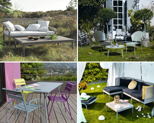 Du mobilier d co pour un jardin printanier for Deco du jardin