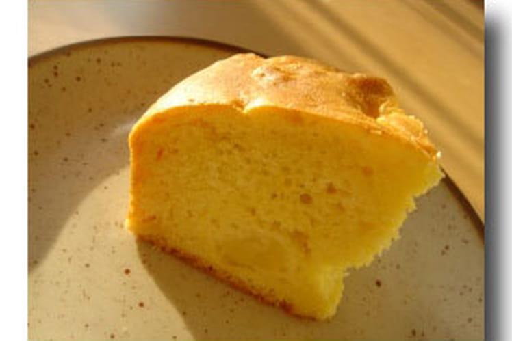Gâteau yaourt-pommes express