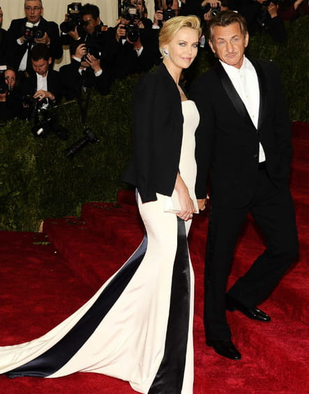 Charlize Theron et Sean Penn Met Ball 2014