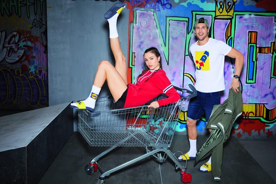 Baskets Lidl, chaussettes et autres t-shirts débarquent en France