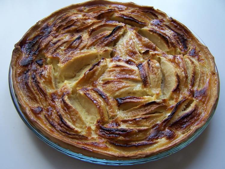 Recette de tarte aux pommes authentique la recette facile - Recette tarte normande traditionnelle ...