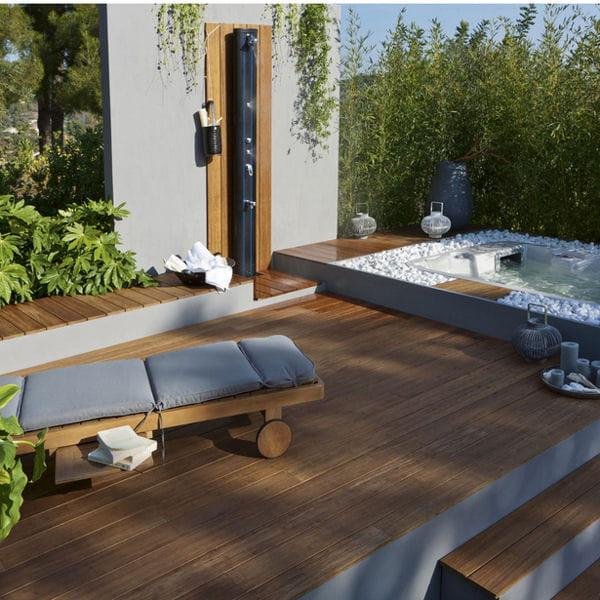 Terrasse En Bambou Leroy Merlin