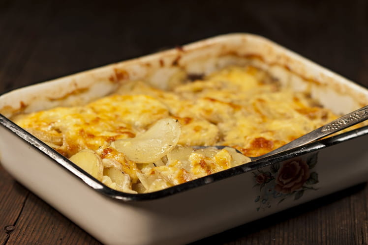 Recette de Gratin dauphinois, recette facile et rapide ...