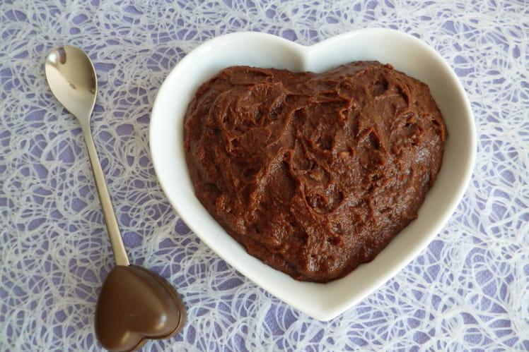 Crème dessert chocolat saveur cookie