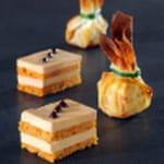 foie gras au pain d epices facon opera et bonbon croustillant 300 cuisiner